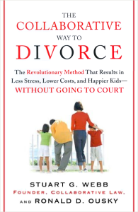 Book Cover of The Collaborative Divorce